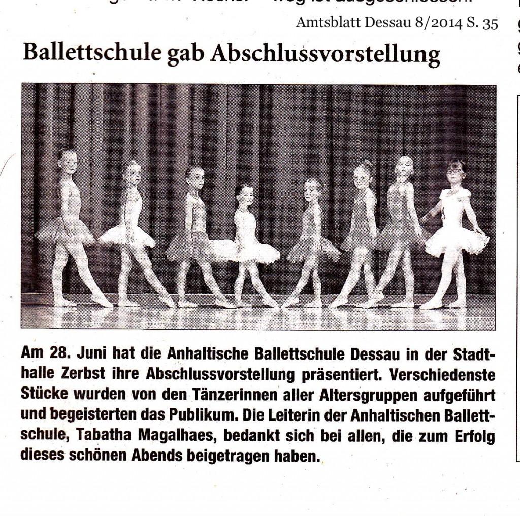 Artikel Amtsblatt 2014