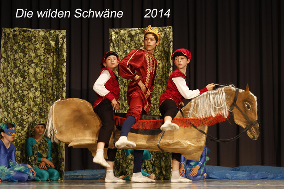 2014 Die wilden Schwäne