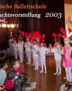 2003 Weihnachten 2003