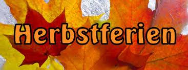 Herbstferien-Plan